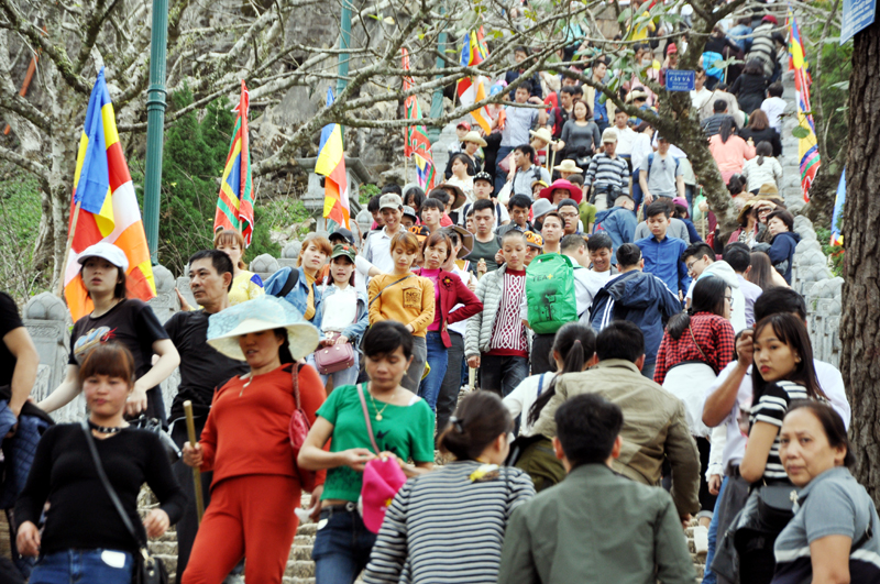 du lịch Quảng Ninh hút khách những ngày đầu xuân