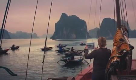 Vịnh Hạ Long trong quảng cáo của Apple