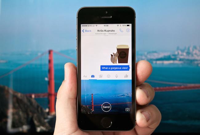 ứng dụng slingshot mới nhất của Facebook