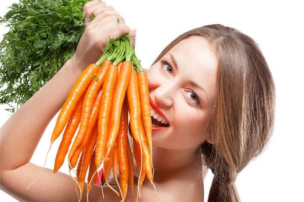 Trị mụn hiệu quả với mặt nạ cà rốt cho da mềm mịn  - ảnh 1