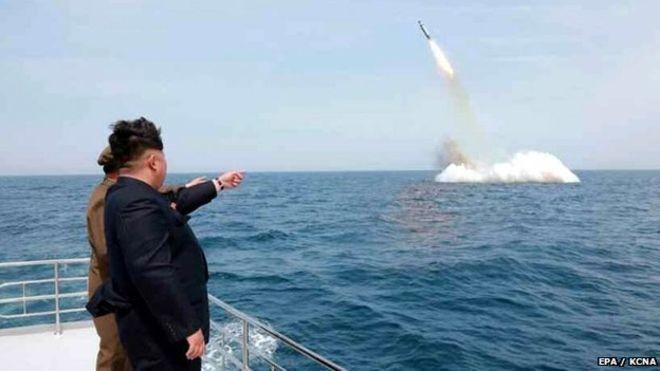 Bức ảnh phóng tên lửa của Triều Tiên đã từng bị nghi ngờ là ảnh giả