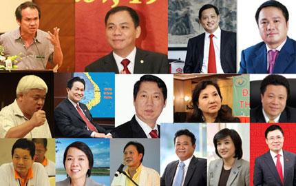 Đa phần những đại gia giàu nhất Việt Nam đều có bằng cử nhân, kỹ sư