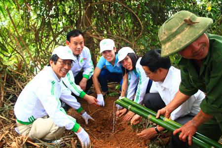 CVN trồng rừng vì một Việt Nam xanh