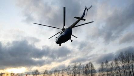 Một chiếc trực thăng Mi-8 của Nga