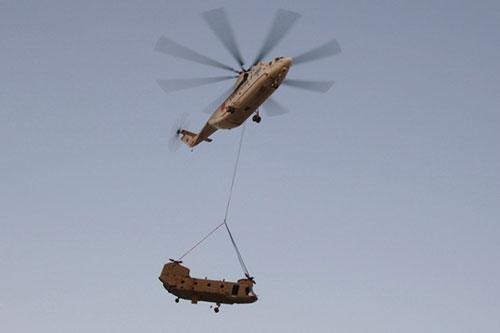 Trực thăng vận tải Mi-26 mang sức manh 'quái vật' uy lực thế giới