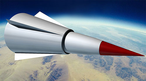 Thiết bị lượn siêu tốc đang được Trung Quốc phát triển và thử nghiệm. Ảnh: RT