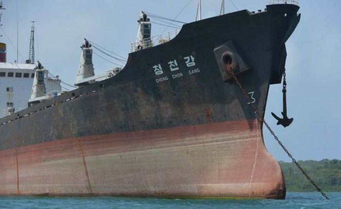 Một tàu hàng của CHDCND Triều Tiên
