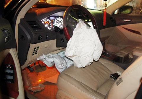 Túi khí xe hơi Toyota sản xuất tại Trung Quốc không an toàn