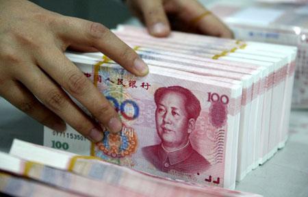 Đồng nhân dân tệ Trung Quốc vừa tụt xuống vị trí thứ bảy trong thanh toán toàn cầu