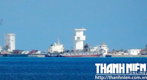 Trung Quốc xây hải đăng trên đảo