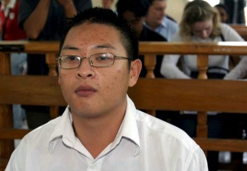 Andrew Chan, một trong hai công dân Úc bị tòa án ở Indonesia kết án tử hình