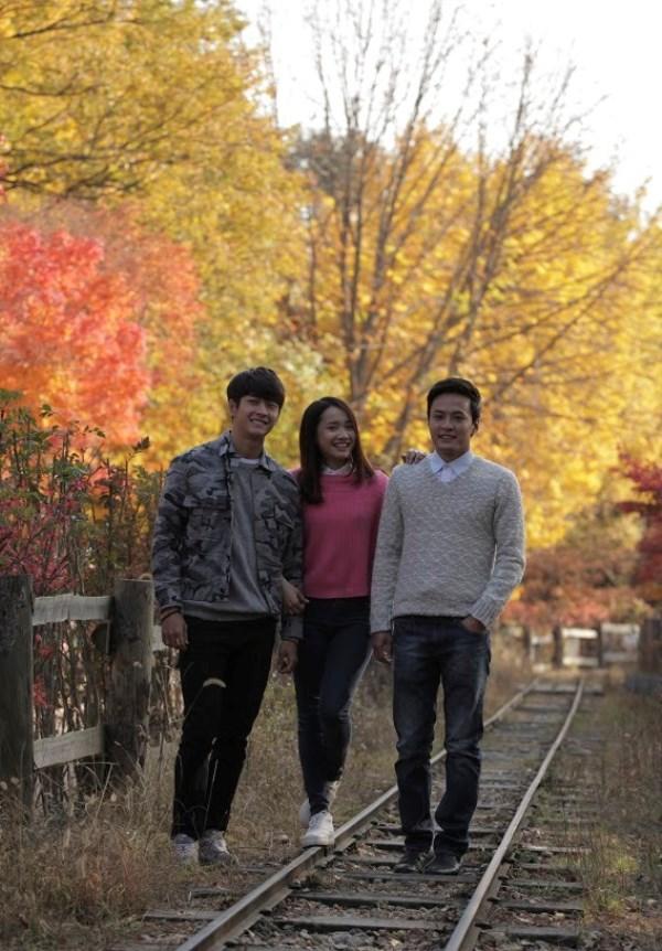 Hình ảnh đẹp như phim Hàn trong Tuổi Thanh Xuân