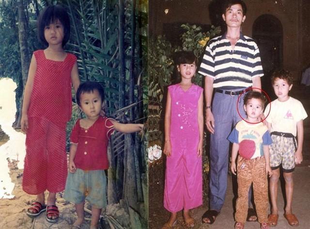 Trinh sinh ra trong một gia đình có 4 anh em, mẹ ruột cô đã mất sau khi sinh cô
