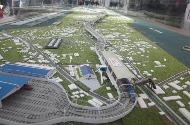 Phối cảnh hệ thống các tuyến metro của Tp.Hồ Chí Minh