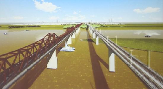 cầu sắt, sông hồng, bộ giao thông, cầu long biên, thượng lưu
