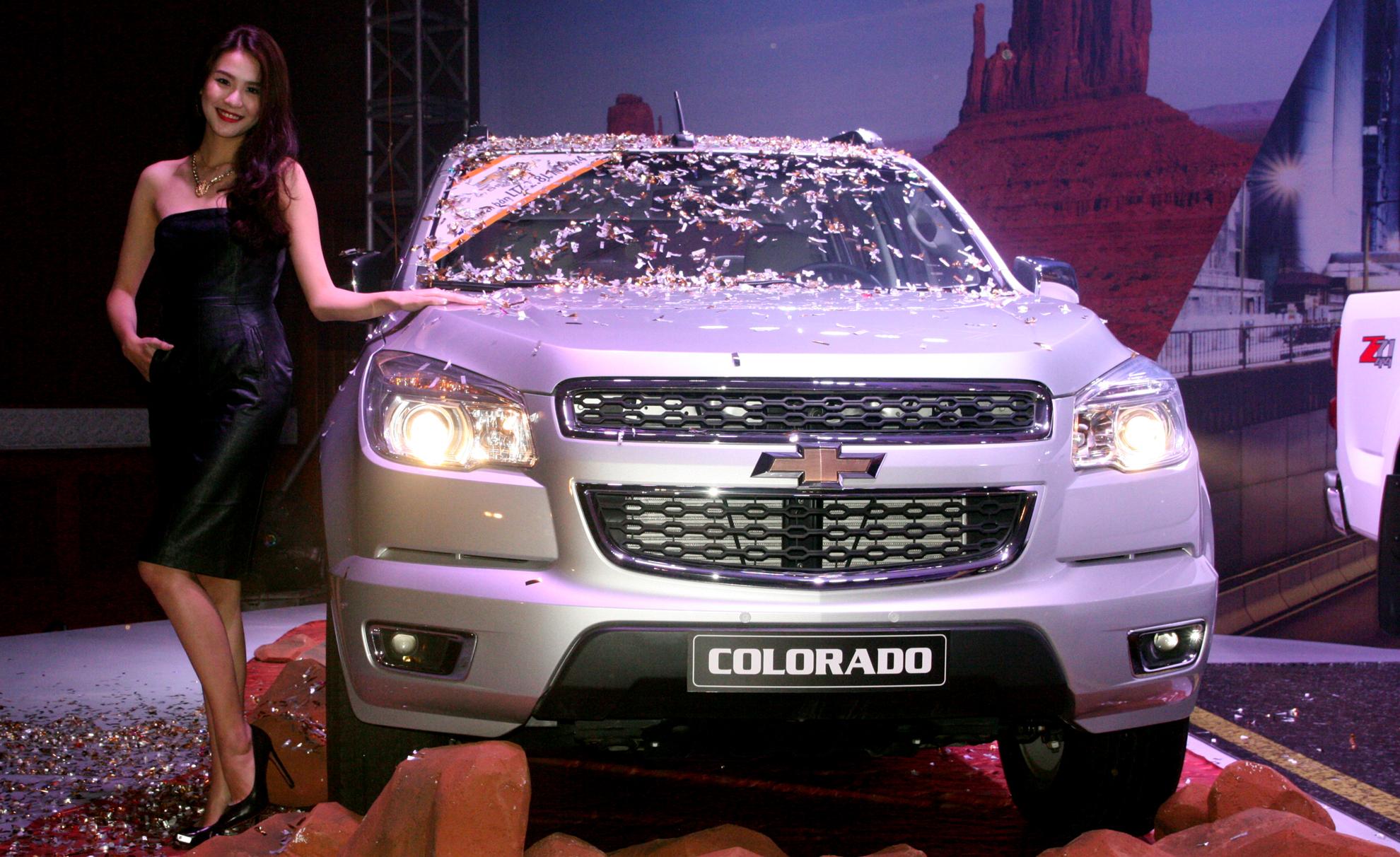 Chevrolet Colorado đang trở thành sự lựa chọn đầy hứa hẹn với những ai muốn mua ô tô giá rẻ dòng bán tải