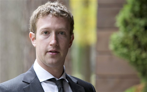 Tỷ phú Mark Zuckerberg
