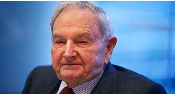 David Rockefeller đứng thứ 603 trong danh sách tỷ phú trên thế giới