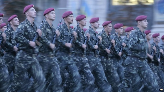duyệt binh tại Ukraine