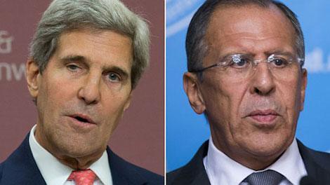 Trong cuộc đàm phán 4 bên của Ukraine, ngoại trưởng Mỹ John Kerry hôm nay sẽ gặp người đồng cấp Nga Sergei Lavrov.