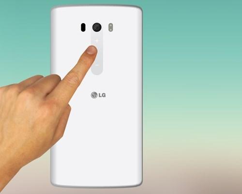 Ứng dụng công nghệ cảm biến vân tay trên LG G4 đang được những tín đồ smartphone chú ý