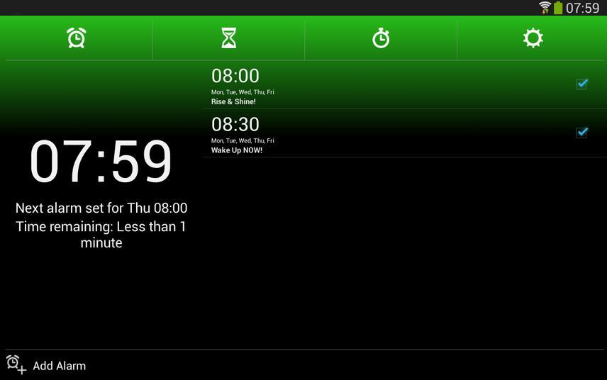 Ứng dụng hay Alarm Clock Xtreme lại chọn phương pháp giải toán để báo thức