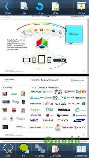 Smart Office 2 là 1 ứng dụng hay với giao diện đơn giản