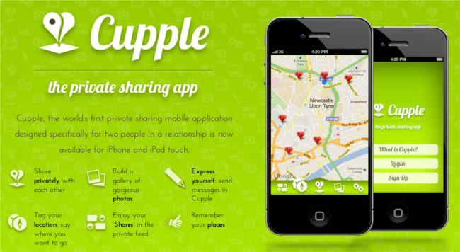 Một trong những ứng dụng hay để lựa chọn cho những cặp tình nhân Cupple