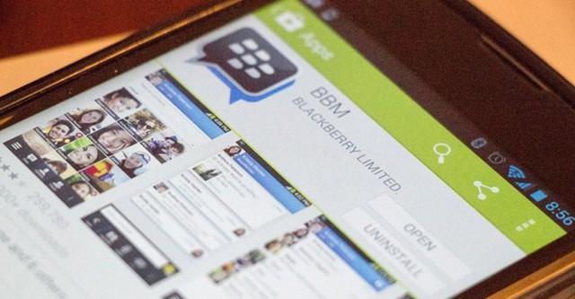 BlackBerry Message là một ứng dụng hay trên các máy BlackBerry đã xuất hiện trên Android