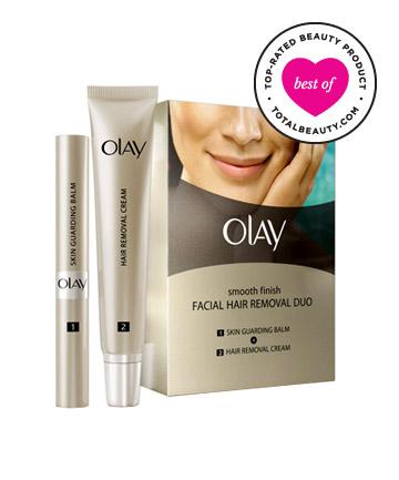Olay Smooth Finish Facial Hair Removal Duo giúp loại bỏ lông mặt hiệu quả ngay cả các vùng khó tẩy sạch