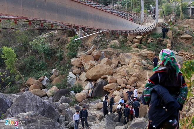 vụ sập cầu treo ở Lai Châu 2