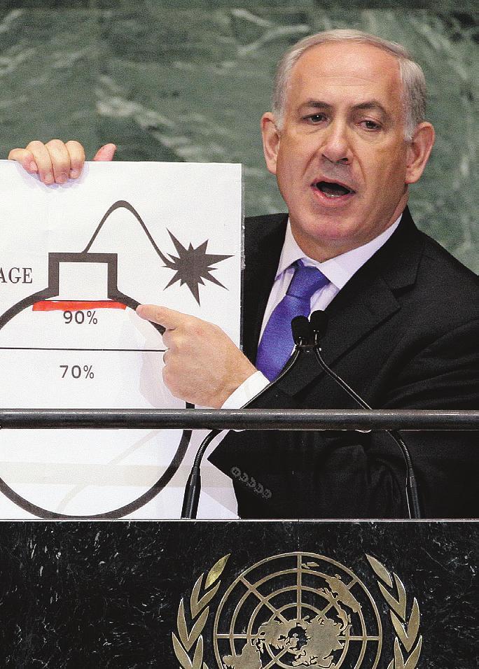 Thủ tướng Israel khẳng định ngăn chặn vấn đề hạt nhân Iran là nhiệm vụ tối cao của mình