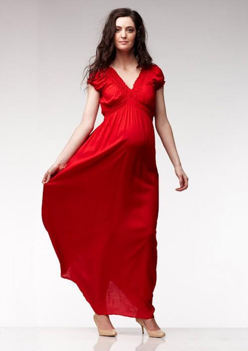 Váy dáng suông dành cho bà bầu