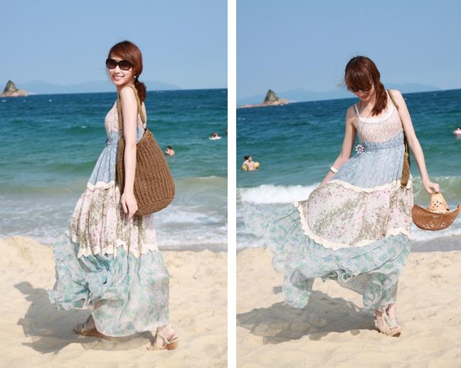 Váy đi biển giá dưới 300K cho hè 2014 thêm rực rỡ