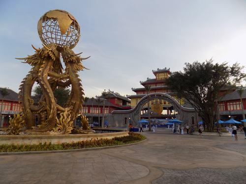 Các công trình thuộc dự án Sun World Ha Long Park. Ảnh Xây Dựng