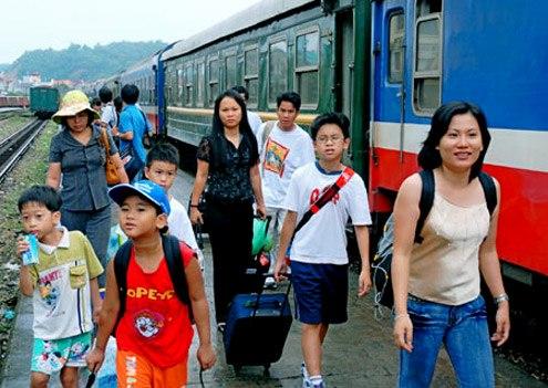 Giá vé tàu xe trong dịp nghỉ lễ Quốc Khánh sẽ không tăng