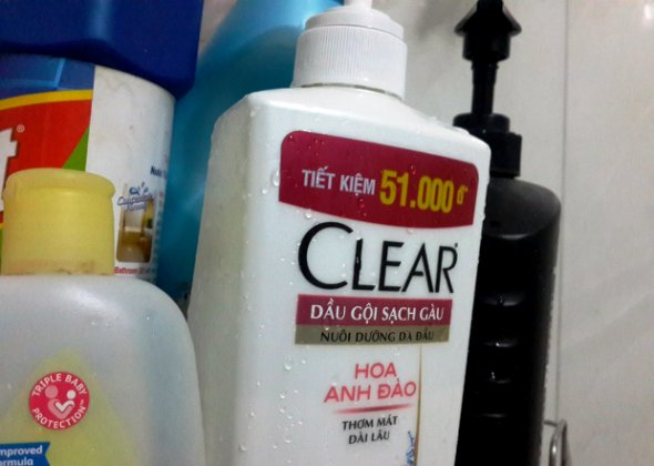 dầu gội trị gàu clear