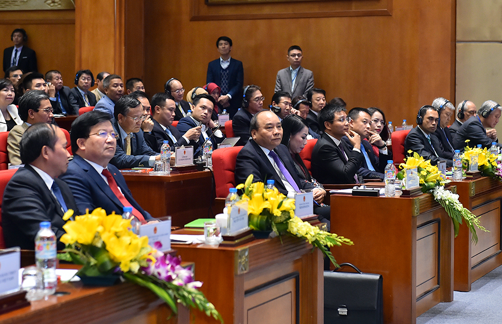 thủ tướng dự hội nghị xúc tiền đầu tư vĩnh phúc