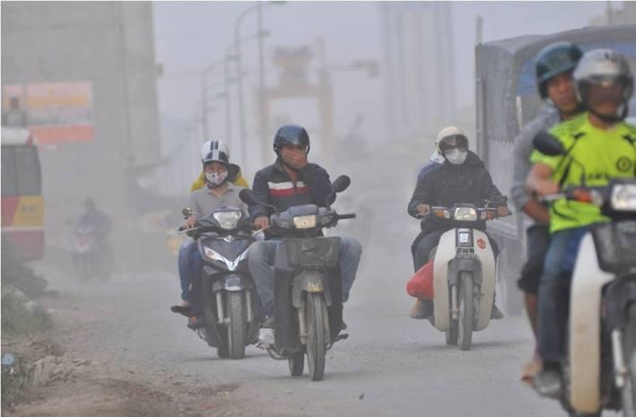 ô nhiễm ở Hà Nội