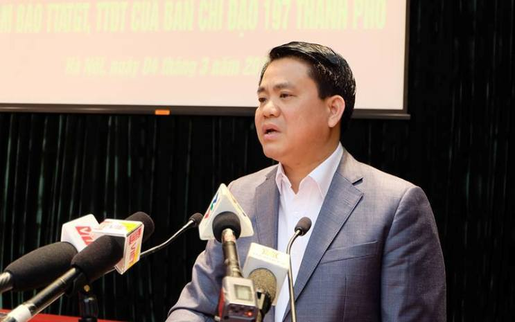 Chủ tịch UBND TP Hà Nội Nguyễn Đức Chun