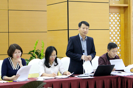 ông Hồ Quang Huy, Phó Chủ tịch UBND TP Hạ Long