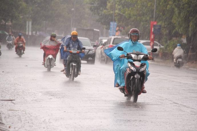 dự báo thời tiết khu vực Hà Nội