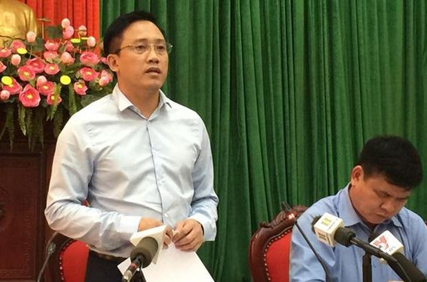 Ông Mai Sơn , Phó Cục trưởng Cục thuế Hà Nội.