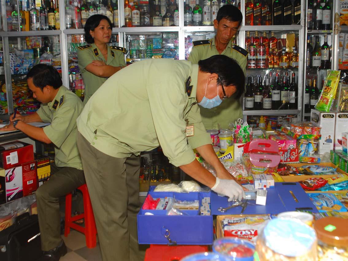 bố trí phương tiện kiểm tra nhanh thực phẩm tại các chợ