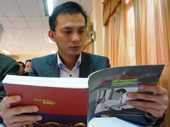 Ông Nguyễn Bá Cảnh trong buổi ra mắt sách viết về ông Nguyễn Bá Thanh