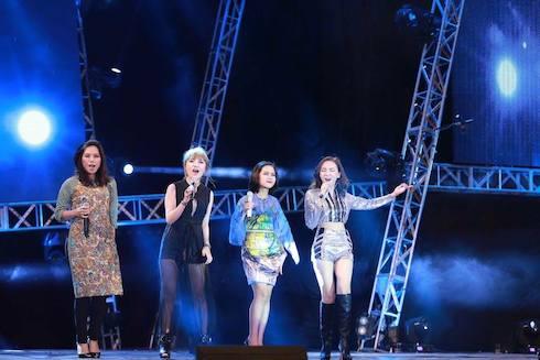 Các thí sinh Idol các mùa trước có những màn trình diễn ấn tượng tại VietNam Idol 2015