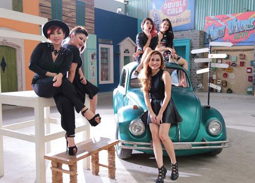 Top 5 nữ Vietnam Idol trong hậu trường quay MV