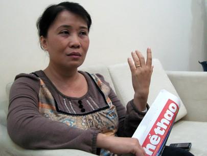 Bà Thu Hồng bị cách chức Tổng Biên tập báo Thể thao TP. HCM.