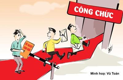 Hà Nội đang kiểm tra việc chạy công chức.