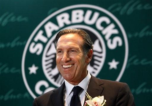 Howard Schultz - Chủ tịch kiêm CEO Starbucks